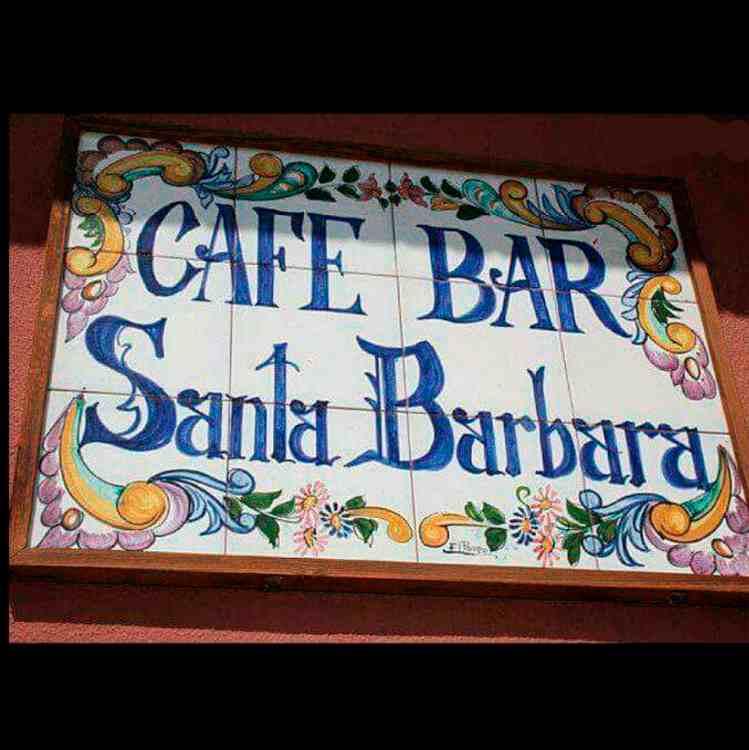 Logo de Café-Bar Santa Bárbara en Totana