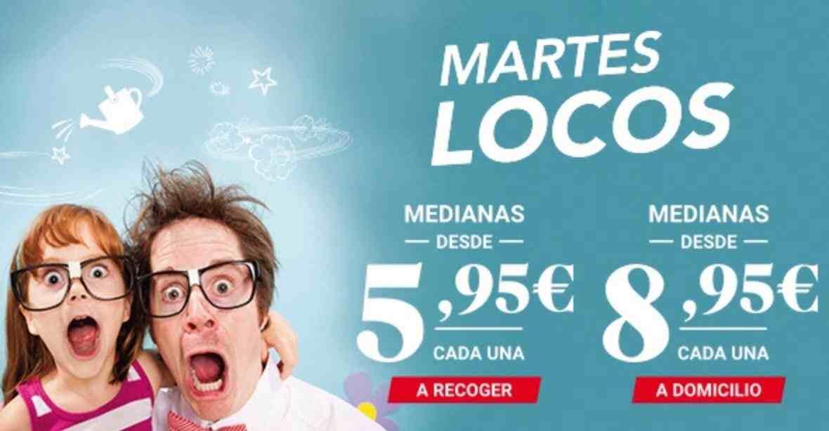 Promoción de Telepizza en Totana
